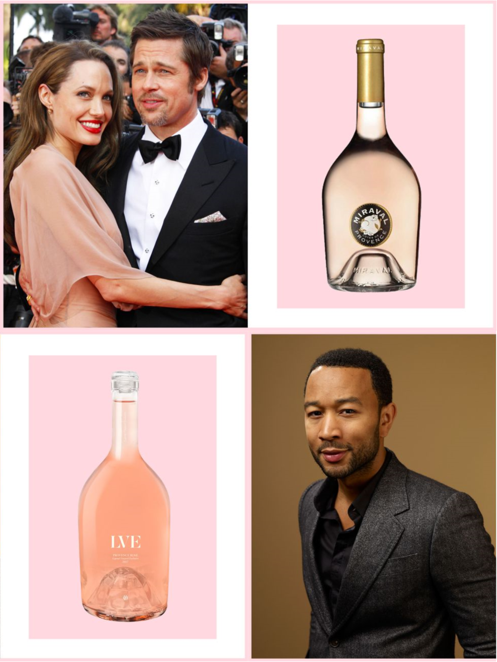 Celebrity Rosé: Whose Should You Drink This 4oJ?
