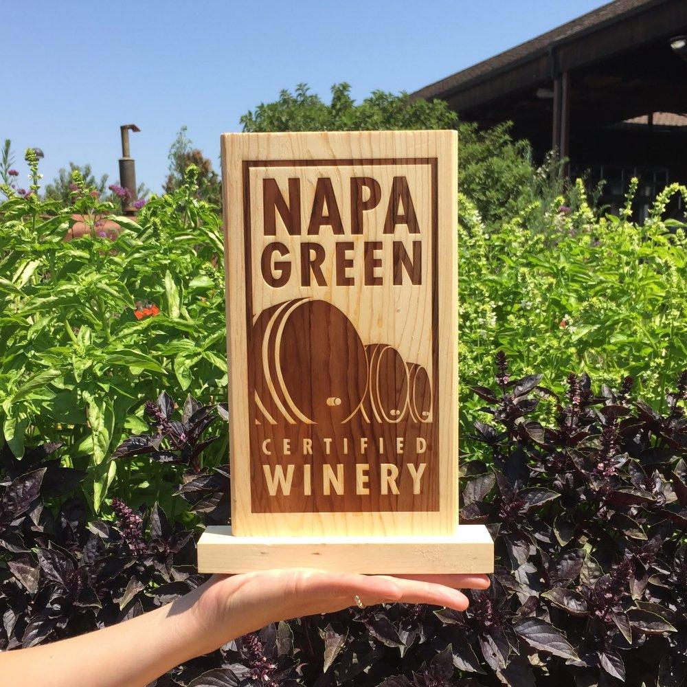 Napa's Leap Into the Green