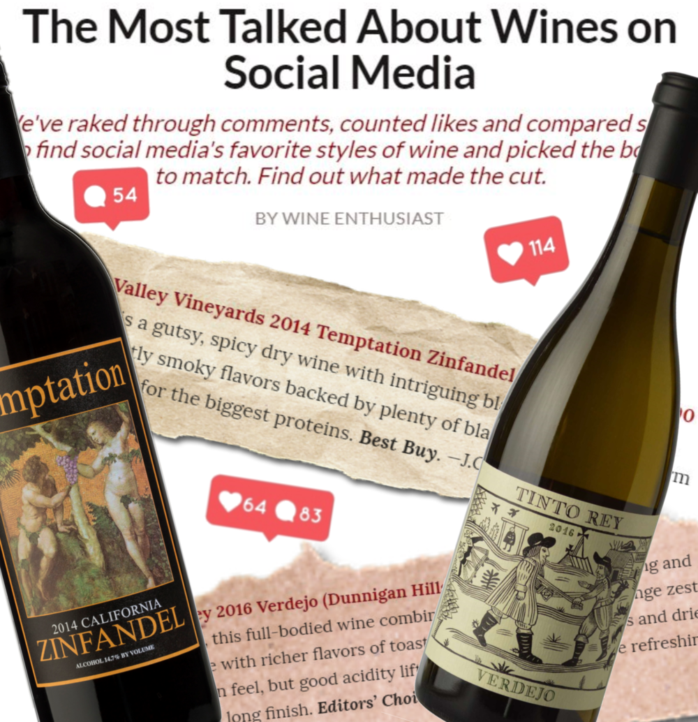The Most Talked About Wines on Social Media