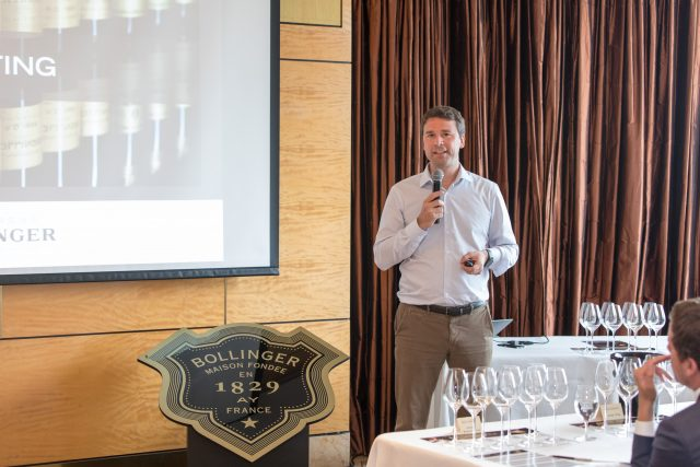 BOLLINGER: IMPORTANCE OF DISGORGEMENT OFTEN UNDERESTIMATED IN CHAMPAGNE