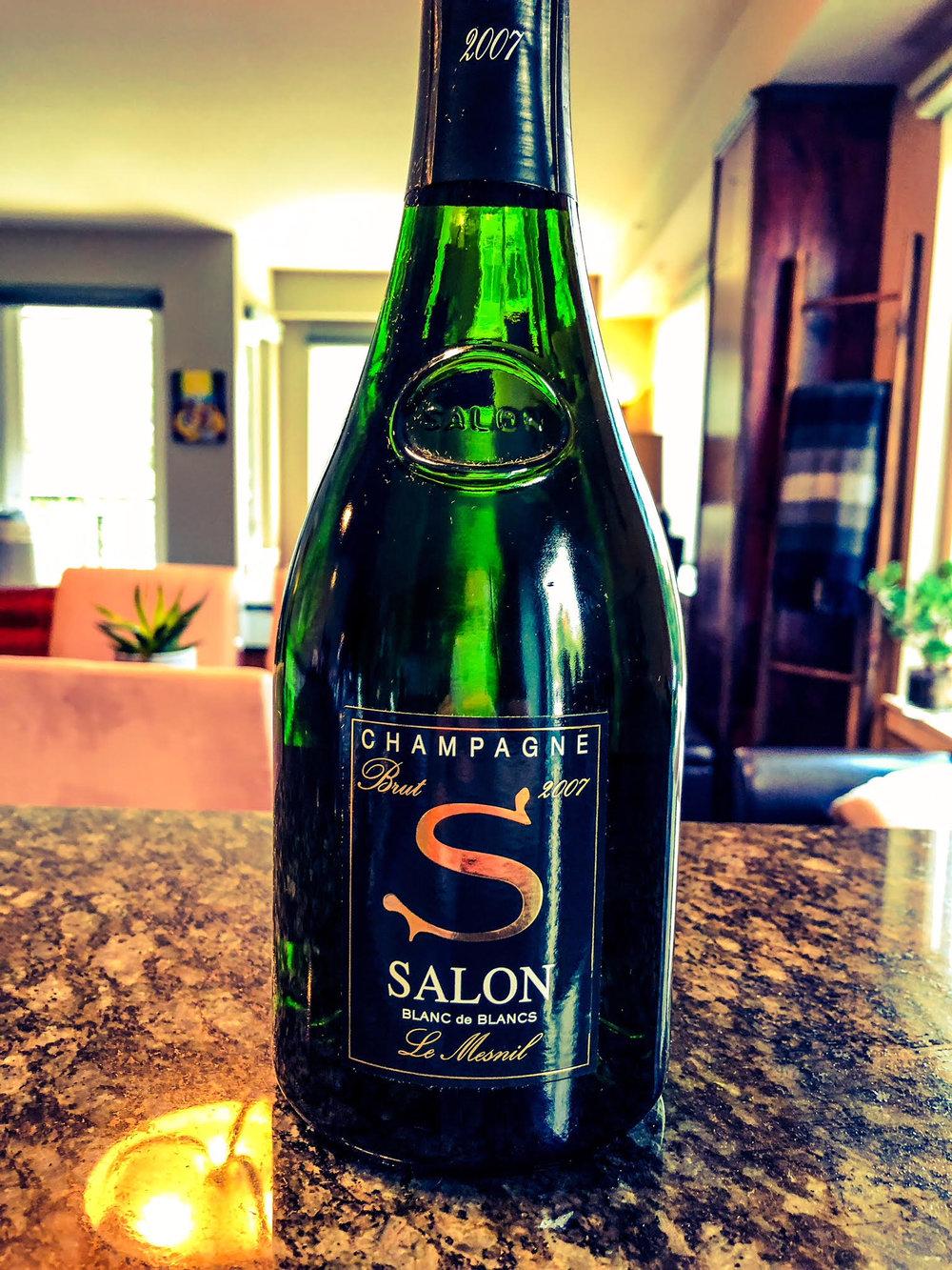 Salon and Delamotte on Washington Wine Blog