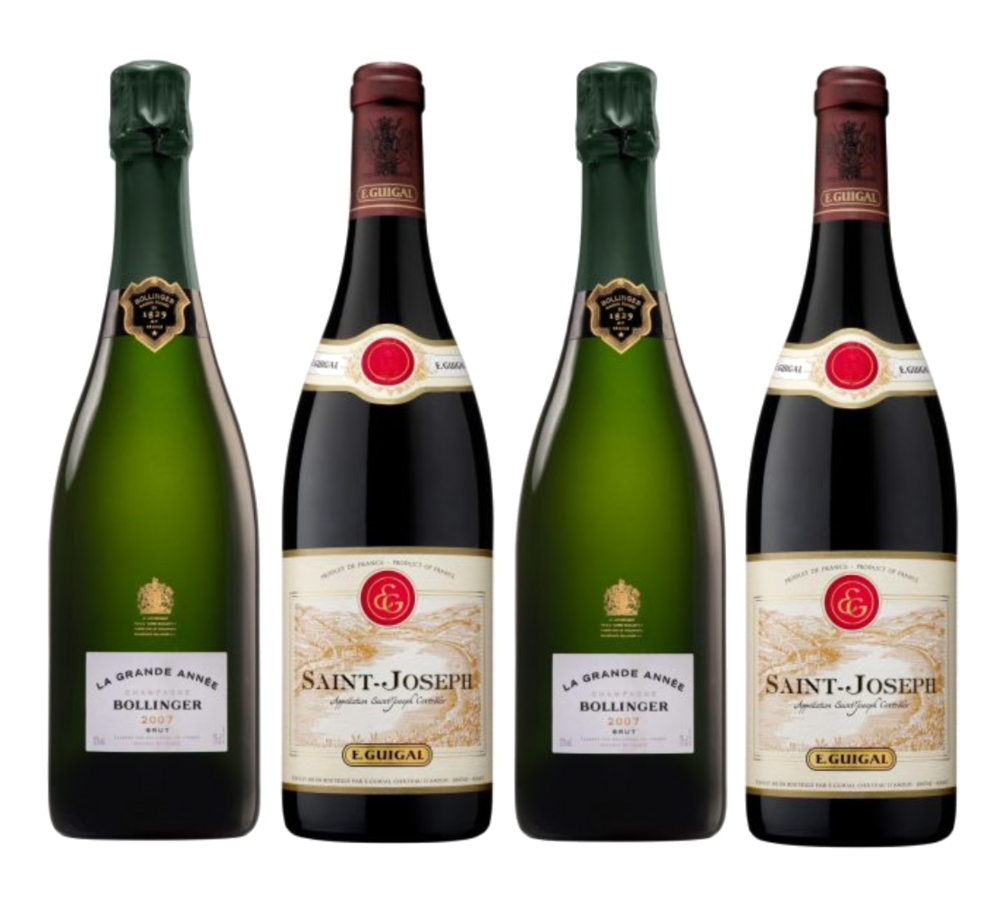 10 Fall Wines featuring Bollinger and E.Guigal