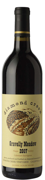 Diamond Creek Napa Valley Cabernet-Built to Age with Grace
