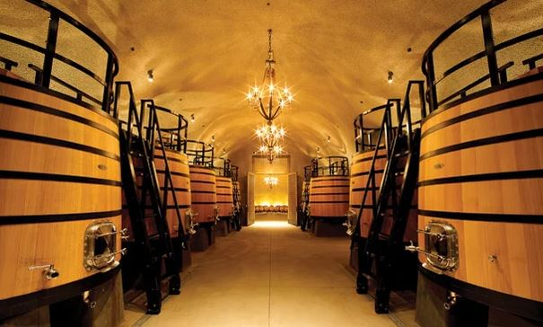 Dana Estates has 1/11 Coolest Wine Tanks in the World