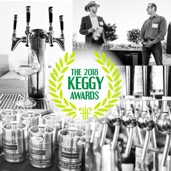 A to Z, Tablas Creek AND Heritage Wine Cellars Win A 2018 Keggy Award