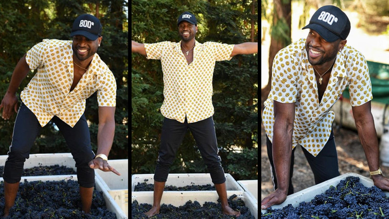 Dwyane Wade Gets into the Wine Game with Pahlmeyer