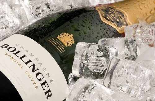 Luxury Champagne Bollinger Bar Showcased at the Winter Village-Bryant Park