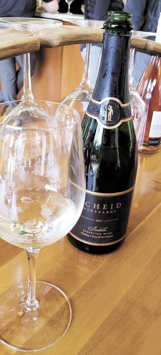 NEWS OPINION EAT + DRINK ENTERTAINMENT PEOPLE CLASSIFIEDS BEST OF Dry sparkling wine from Scheid Vineyards is reason enough to celebrate