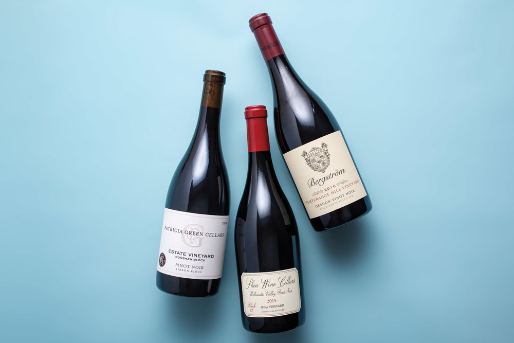 The State of Oregon Pinot Noir