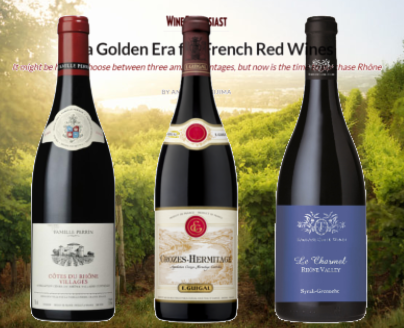 It's a Golden Era for French Red Wines