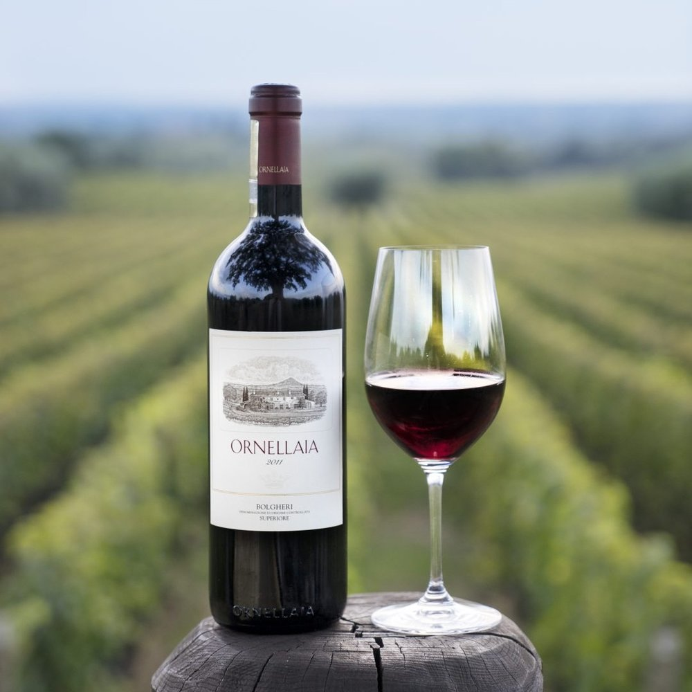 Ornellaia; One of the Winners of the Vinitaly International Award 2019