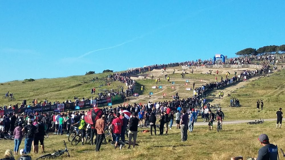 Sites from the Sea Otter Classic 2018.