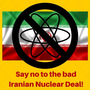 Say no to the flawed Iranian Nuclear Deal