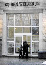 Montreal Bomb Jewish Community Centre - Courtesy Canada.com