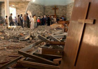 Iraq Christian Church Bombing
