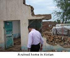 A Ruined Home in Korian Pakistan