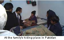 Christian Family Hiding Place Pakistan