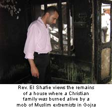 House Where Christian Family Burned Alive by Muslim Extremists
