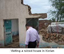 Ruined House in Korian Christian Villages