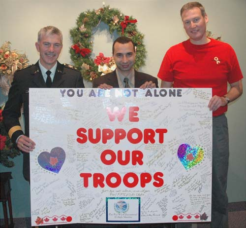 Support Our Troops Sign