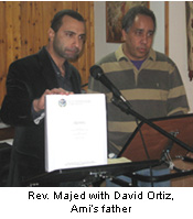 OFWI Majed with David Ortiz Amis Father