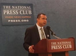 Sept 16th Testimony of Rev. El Shafie at The National Press Club in Washington, DC (2)