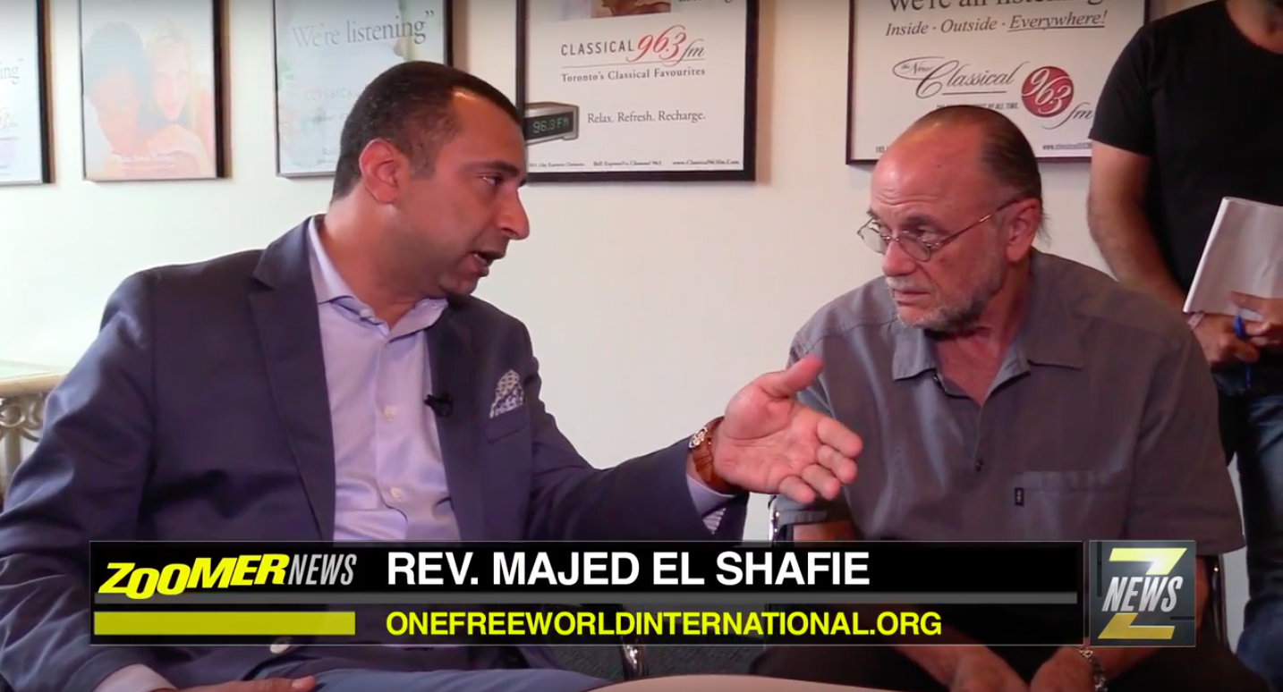 Click to watch Majed speak with Zoomer Media about OFWI's trip to Iraq
