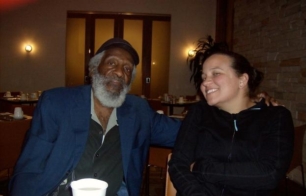 Dick Gregory and Tennessee Reed.