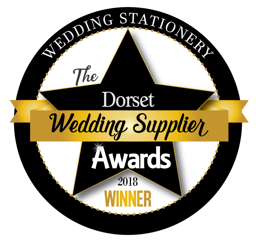 The Dorset Wedding Supplier Awards | Stationery Winner 2018