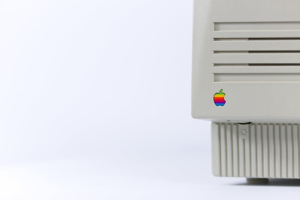 Old Apple Computer Logo