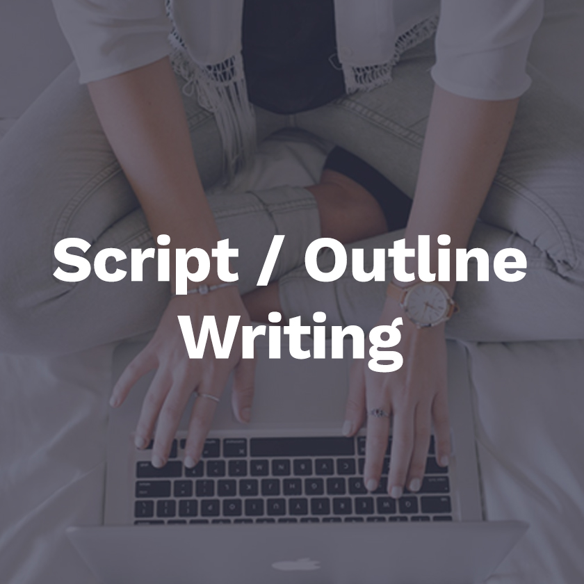 Write videos script/outline - This can be for videos that we record or for someone who will record the videos themselves in other location