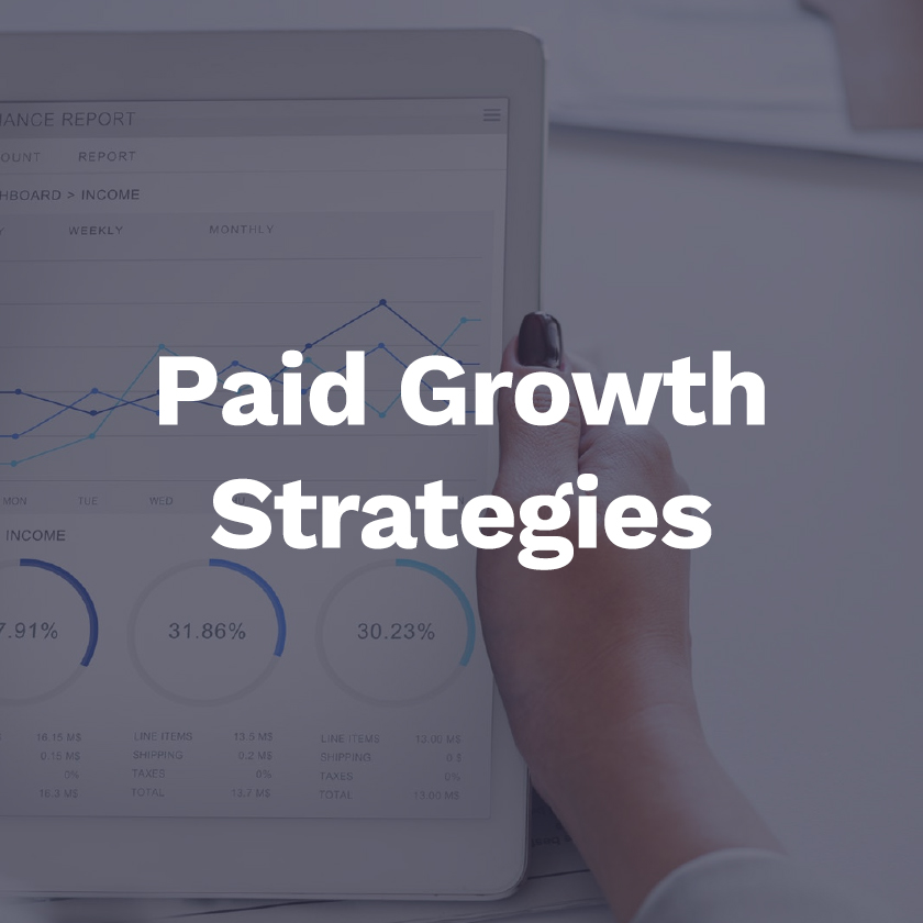 Paid growth strategies -