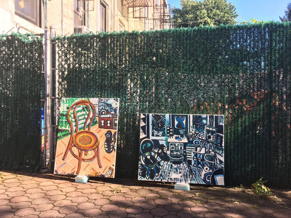 Greenpoint Backyard, 2017