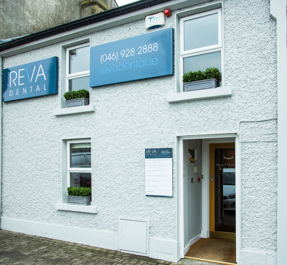 HIGH QUALITY Kells dentist - Welcome to REVA Dental Kells. We are a modern general & specialist dental clinic located on Bective Square in the heart of Kells.The practice was established by Dr. Denis Coughlan in 2002 with the philosophy that patients should be able to access an outstanding level of dental care in a single practice. To this end Dr. Coughlan drew together a group of colleagues with various special interests and the practice has developed into a fully equipped dental treatment centre offering a full range of dental treatments and utilising only the very best in techniques, materials and laboratories, all offered in a friendly, high quality environment.Why not get in touch today and see for yourself?Tel. 046 928 2888 or Email: kells@revadental.ie