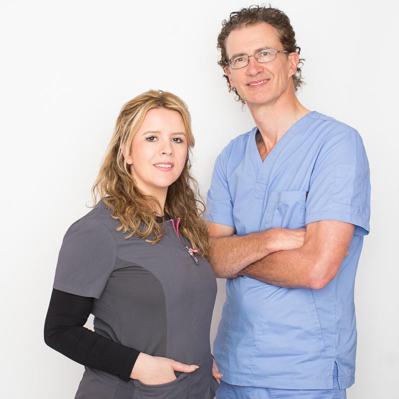 Dr. Lochlann Walsh and Grace Kelly