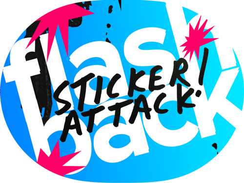 Flashback Sticker Attack! - iMessage Stickers