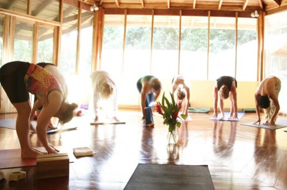samasati yoga room