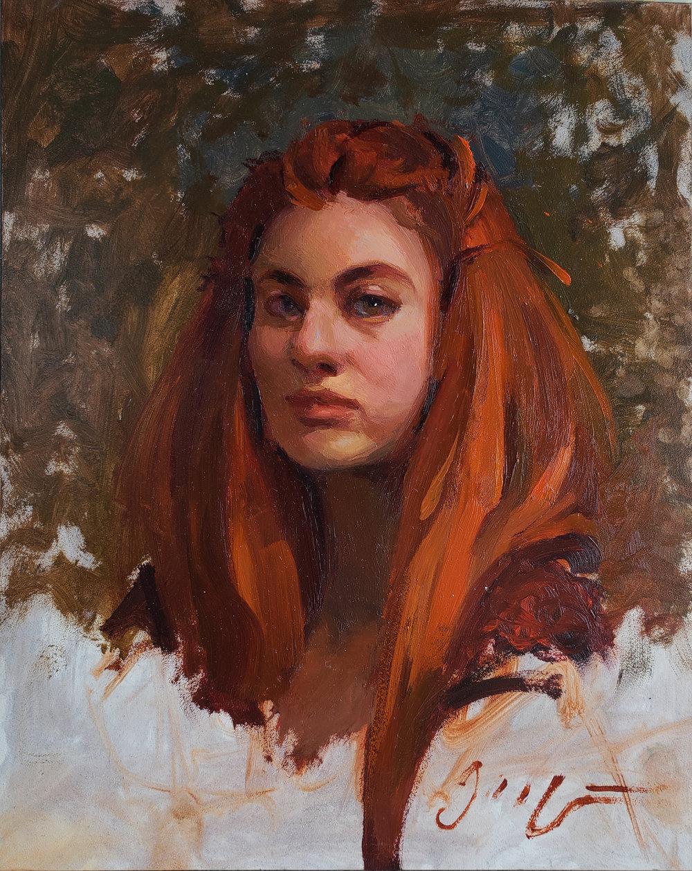"""Portrait 8"""" x 10"""""""