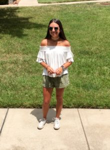 Delaney Loves The Off-The-Shoulder Look cc:Kelly Droz