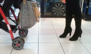 walking-in-heels-while-pushing-stroller-Santiago-Chile-mall-300x179.jpg