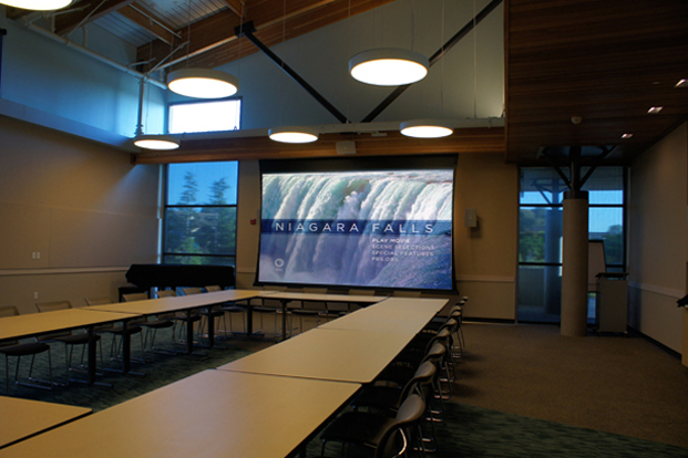 Redwood Shores Library Community Room and Teen Room -