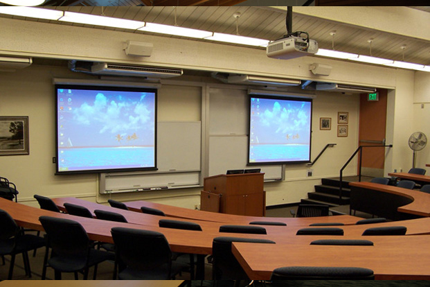 Stanford University, Redwood Hall Auditorium -