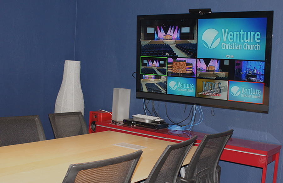 Video-conferencing -