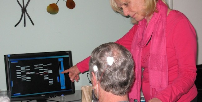 Neurofeedback with Lynn Davis at The Lotus Center