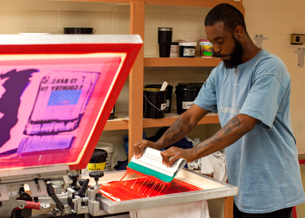 Provide job training supplies to grow our screen printing business. -