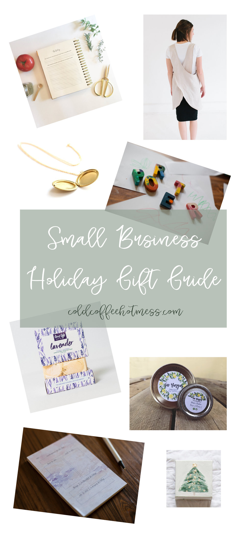 Small Business Gift Guide coldcoffeehotmess.com