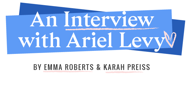 After finishing taping The Late Show with Stephen Colbert, Emma raced out of the Ed Sullivan Theatre and made her way through Midtown to meet Karah at the legendary  Strand Bookstore  for a conversation with the one and only Ariel Levy: