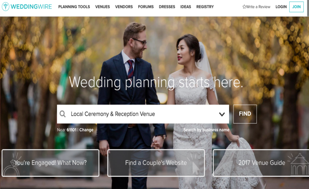 Wedmony lauren humphries wedding wire is a planning tool similar to the knot pros a blog community junglespirit Choice Image
