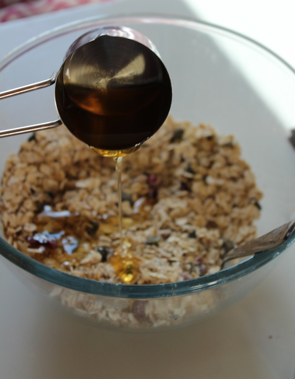 Granola-honey-dripping.JPG