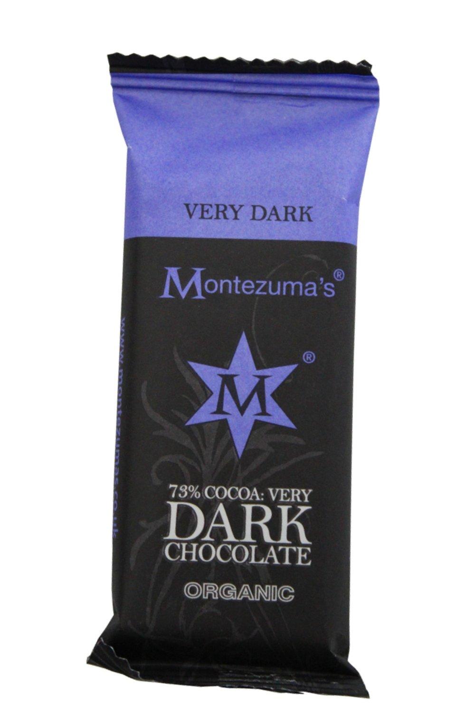 Vegan Dark Chocolate mini contains Cocoa Solids 73%